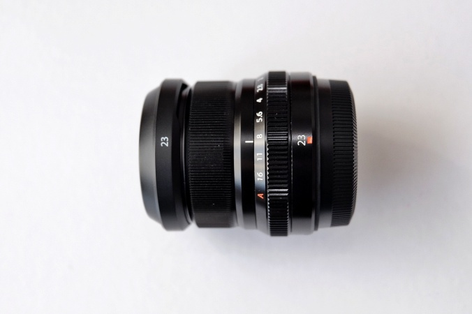 Objetivo de Fujifilm, Fujinon XF 23 F2 R WR